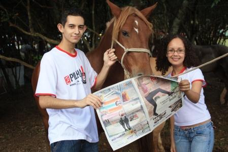 O cavalo do Julinho também lê o Na Pilha