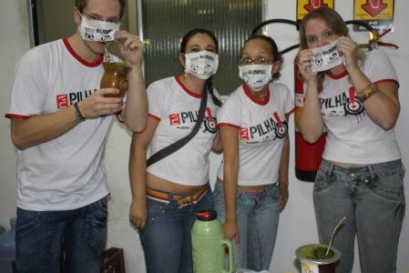 Unisc e Na Pilha garantiram agitação na Assoeva