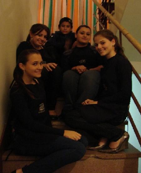 Turma de voluntários da Casa de Cultura