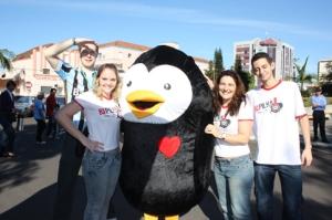 Rodrigo, Anaa, pinguinzinho, Nega e Diego