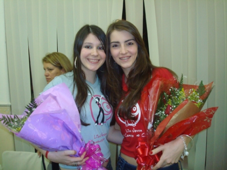 Amanda recebeu a presidência de Ana