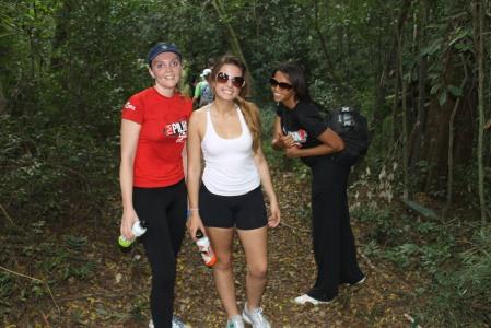 Cauã já estava conosco na Trilha de Monte Belo