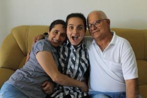 Os pais são os grandes incentivadores de Manu