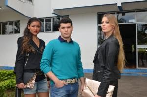 Ana, Fernando e Eduarda