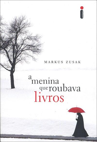 Capa do livro 'A Menina que Roubava Livros'.
