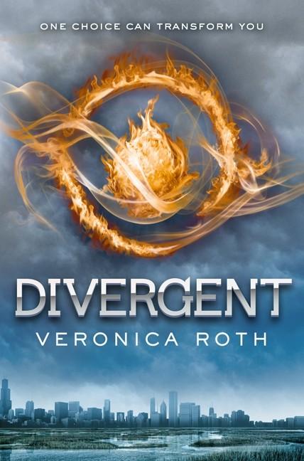 Capa do primeiro livro da série 'Divergente', que é nomeado igualmente!